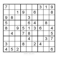 3X3 Very Easy Sudoku 5