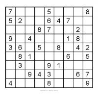 Printable 3X3 Very Easy Sudoku 6 - Printable Sudoku - Free Printable Games