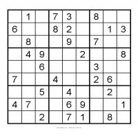 Printable 3X3 Very Easy Sudoku 7 - Printable Sudoku - Free Printable Games