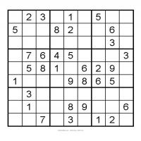 Printable 3X3 Very Easy Sudoku 9 - Printable Sudoku - Free Printable Games