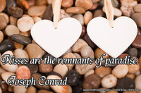 Kisses Paradise Conrad Quotation