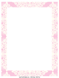 Pink Diamonds Letterhead