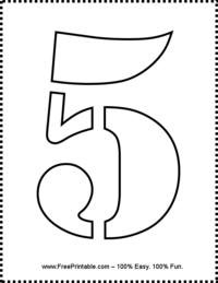 Printable 5