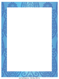 Blue Horseshoe Letterhead