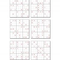 6 Difficult Sudoku Set 3