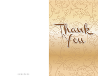 Floral Thank You Letter