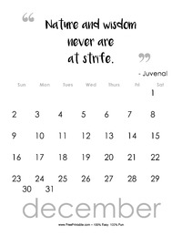 December 2018 Quote