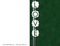 Love Christmas Card