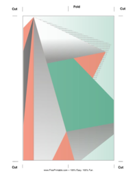 Colorful Prism Bookmark