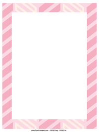 3-D Hearts Stationery