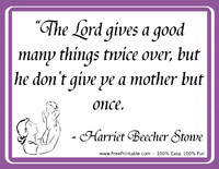 Stowe Mothers Quotation
