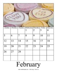 February 2017 Photo Calendar