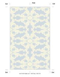 Blue Royal Bookmark