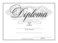 Fancy Diploma