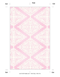 Pink Diamonds Bookmark