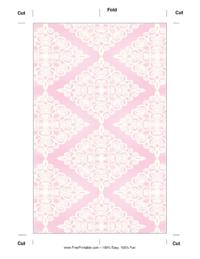 Pink Diamonds Bookmark