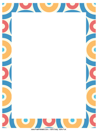 Colorful Circles Letterhead