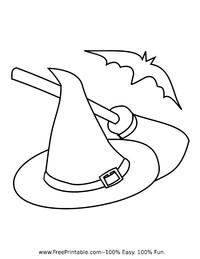 Hat, Broom, Bat