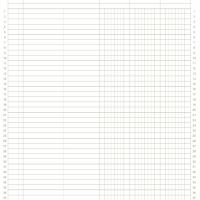 8.5&amp;quot;x11&amp;quot; 3col. General Ledger