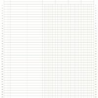 8.5&quot;x11&quot; 4col. General Ledger