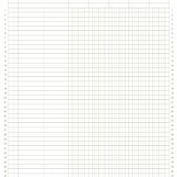 8.5&quot;x11&quot; 5col. General Ledger