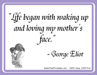 Eliot Mothers Quotation