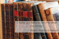 Ralph Waldo Emerson Meta Quotation