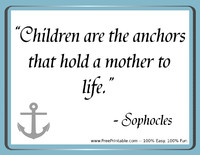 Sophocles Mothers Quotation