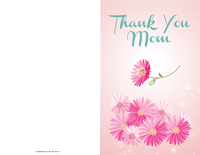 Mother's Day Gerbera Card
