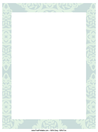 Feathered Letterhead