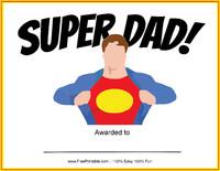 Super Dad Award