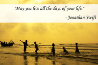 Jonathan Swift Life Quotation