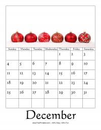 December 2016 Photo Calendar