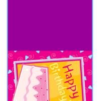 Printable A Slice of Cake - Printable Birthday Cards - Free Printable Cards