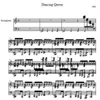 Printable Abba - Dancing Queen - Printable Piano Music - Free Printable Music