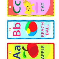 Printable ABC Lesson Bookmarks - Printable Bookmarks - Free Printable Crafts