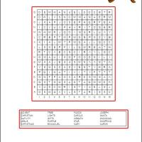 Printable Advent Word Search - Printable Word Search - Free Printable Games