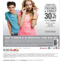 Printable Aeropostale Coupon - Printable Discount Coupons - Free Printable Coupons