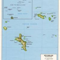 Africa- Seychelles Political Map