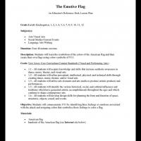 Printable All Levels Social Studies: Emotive Flag - Printable Lesson Plans - Free Printable Worksheets