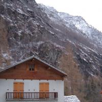 Alp House In Winter