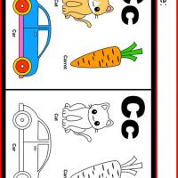 Printable Alphabet C Coloring Worksheet - Printable Kindergarten Worksheets and Lessons - Free Printable Worksheets