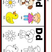 Alphabet D Coloring Worksheet