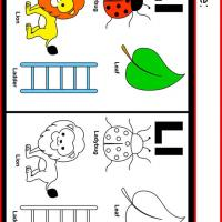 Alphabet L Coloring Worksheet
