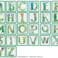 Printable Alphabet  Stickers - Printable Stationary - Free Printable Activities
