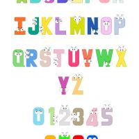 Printable Alphabet with Eyes Classroom Lessons - Printable Classroom Lessons - Free Printable Lessons