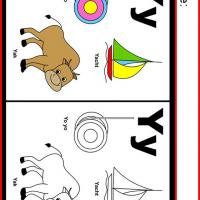 Alphabet Y Coloring Worksheet