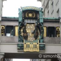 Anchor Clock of Vienna