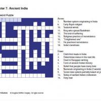 Ancient India Crossword
