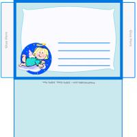 Printable Angel Envelope - Printable Card Maker - Free Printable Cards